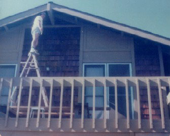 dad workin' on the house