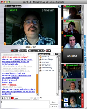 Stickam Session 2009 - joe bustillos
