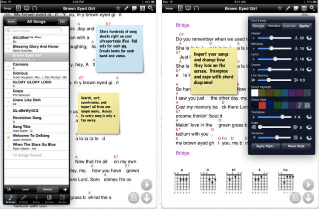 Onsong Guitartapp Ipad Apps For Guitar Players Joe Bustillos