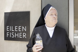 Eileen Fisher, Snapple, nun by Timothy Krause