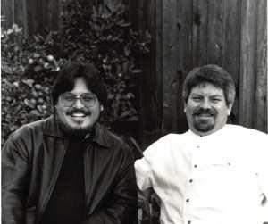 1999-11-20 Creagan & I at Mom & Dad's 50th Anniversary cropped