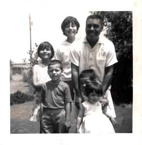 1960s, Mich, Joe, Kathie, Dad, Matt and Joyce