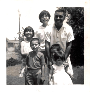 1960s, Mich, Joe, Kathie, Dad, Matt and Joyce