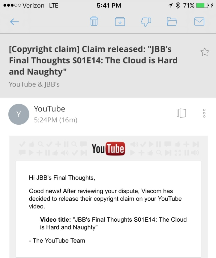 Fair Use Claim Approved