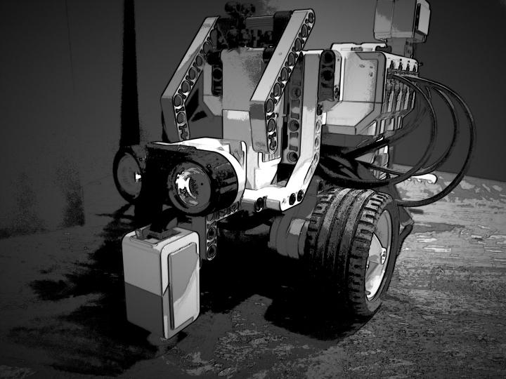 LEGO EV3 Gotham Noir by Joe Bustillos